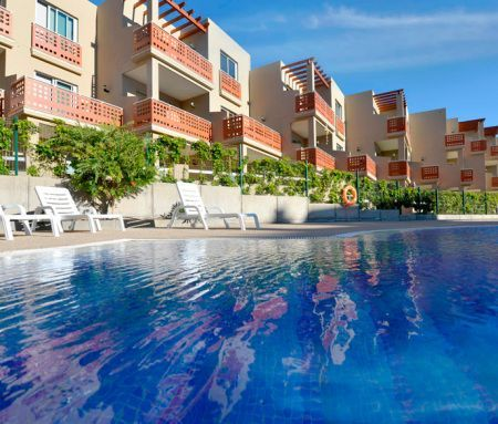 Private pool of VistaRoja Residential, new properties for sale in Tenerife