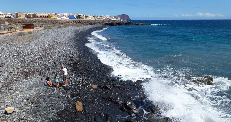 Los Abrigos beach in Tenerife South