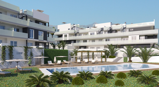 New Apartments in South Tenerife - La Tejita Residencial
