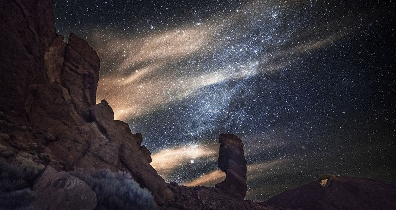 Milkyway view from Tenerife