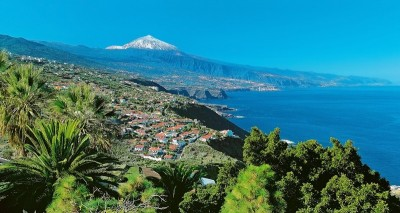Panoramic Photography of Tenerife Island