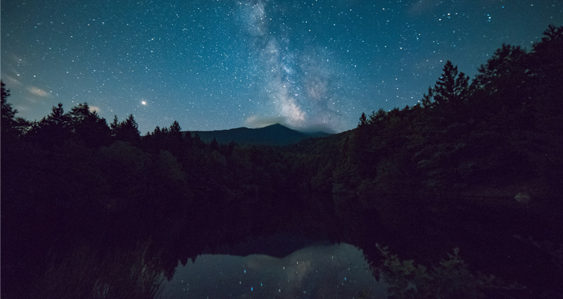 Stargazing in one of Europe's most beautiful national parks